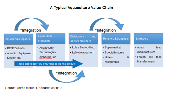 A Typical Aquaculture Value Chain