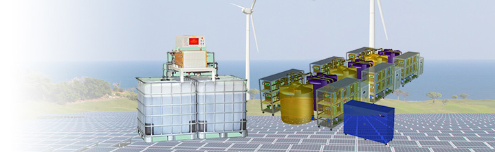 Vanadium Redox Flow Batteries-an Ideal source for Solar & Wind Energy farms
