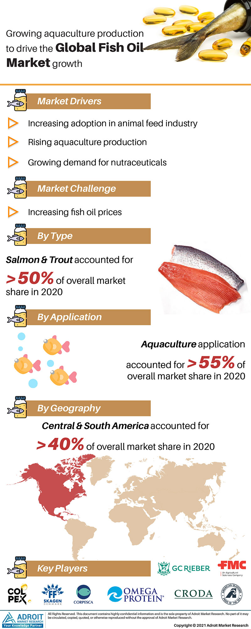 Fish Oil Market Trends and Forecasts Research Report