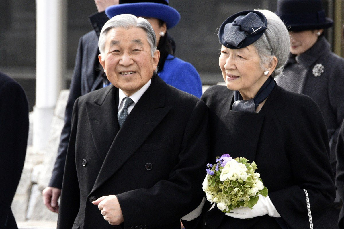 Emperor Akihito begins historic abdication