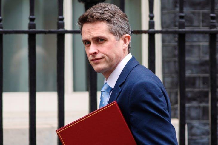 Gavin Williamson denies any part in data leakage